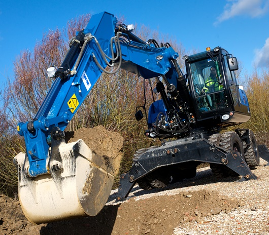 TorqStor has been tested and demonstrated in the Ricardo HFX high efficiency excavator concept