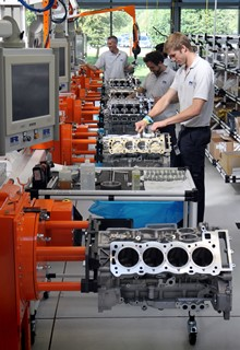 Ricardo production facility for the McLaren M838T engine