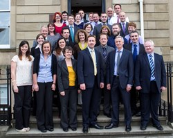 Ricardo-AEA Glasgow office launch - team photo