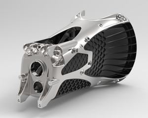 ULTRAN lightweight transmission casing designed by Ricardo