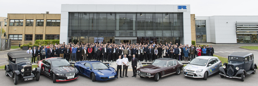 The Ricardo100 Global Challenge commenced today at the Ricardo Shoreham Technical Centre