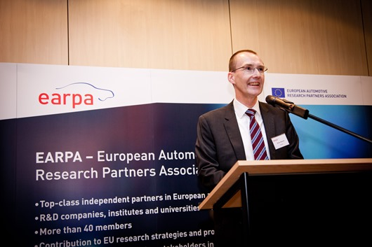 Simon Edwards, Ricardo's global director of technology and chair of EARPA