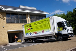 The ERTOC system under demonstration in a 7.5 tonne truck