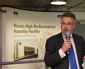 Tim Loughton MP opens the new Ricardo High Performance Assembly Facility