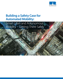 The white paper Building a Safety Case for Automated Mobility: Smart Cities and Autonomous Mobility – Getting There Safely will be available for download at: www.ricardo.com/connected following Automobility 2016.