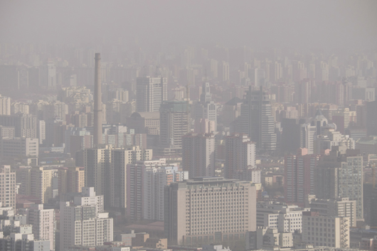 Mark Broomfield visits China for Air Quality meeting