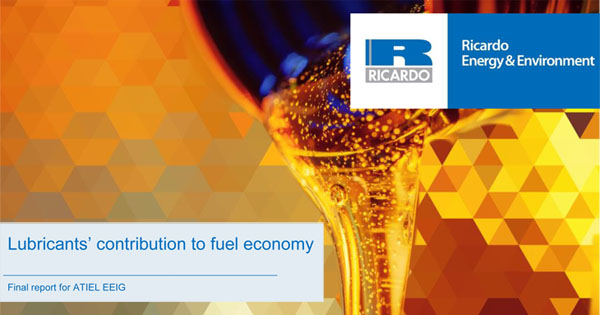 Ricardo report shows contribution of engine lube oil in reducing European vehicle CO2