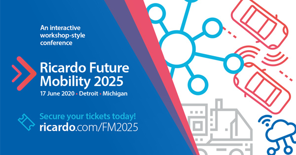 Full speaker list and schedule announced for 2020 Future Mobility conference