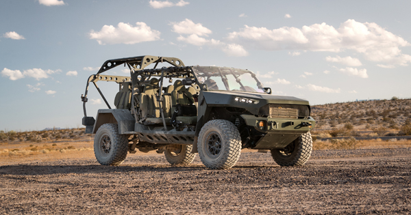 GM Defense teams with Ricardo on Infantry Squad Vehicle