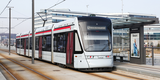 Ricardo congratulates cities of Aarhus and Odder on new light rail connection