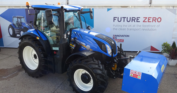 Ricardo supports CNH Industrial with development of biomethane-powered tractor