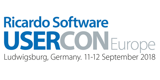 Ricardo Software UserCon Europe 2018 programme announced
