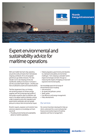 Expert environmental and sustainability advice