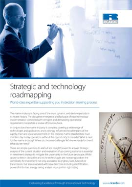 Strategic and Technology roadmapping