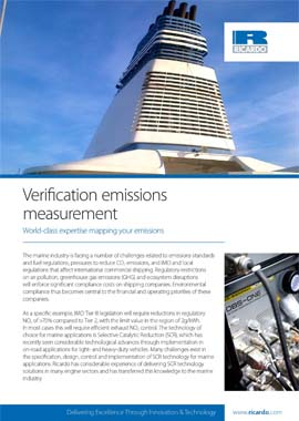 Verification emissions measurement