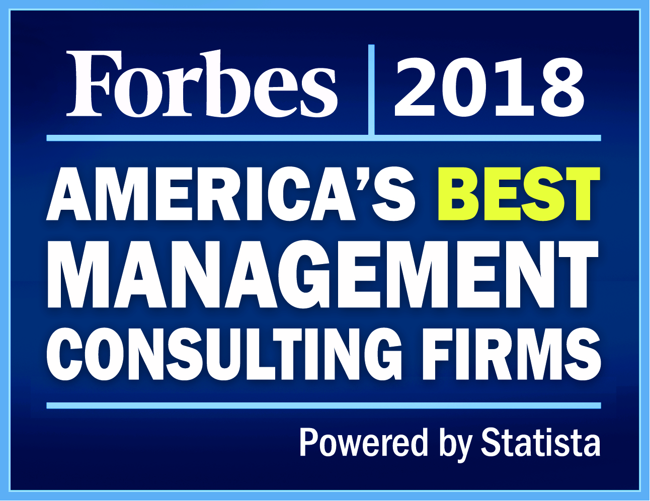 Hat-trick for RSC as one of 'America's Best Management Consulting Firms 2018'