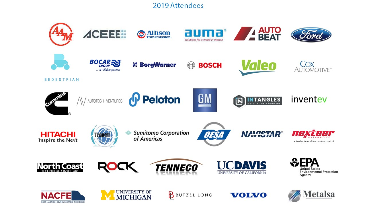 2019 Attendees