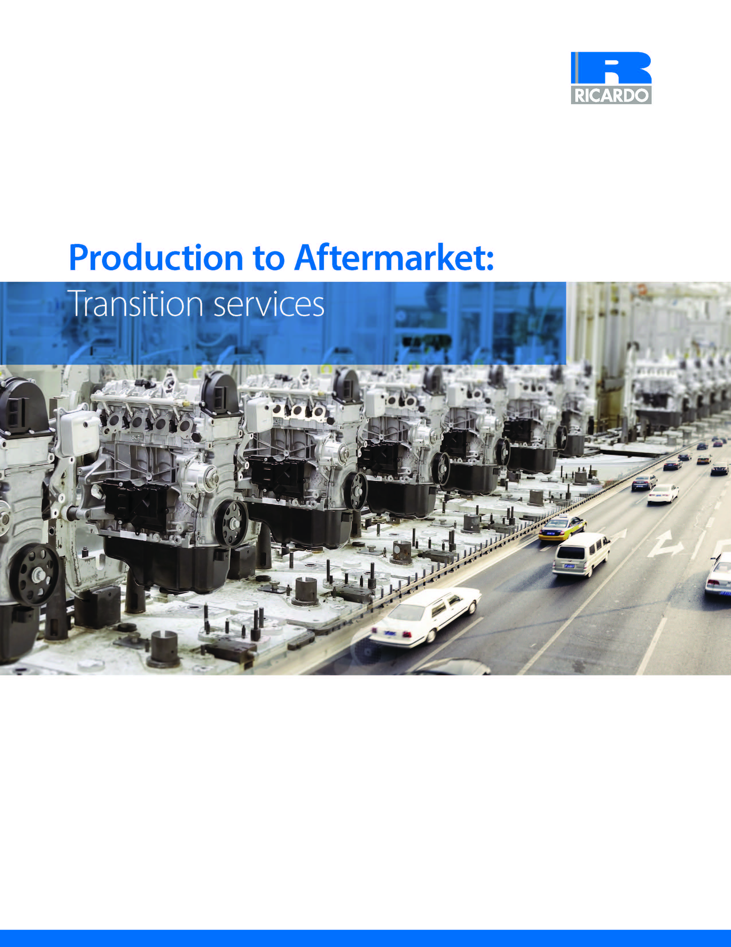 Production to Aftermarket: Transition services