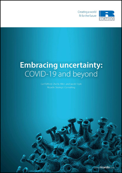 Embracing uncertainty: planning for a future beyond Covid-19