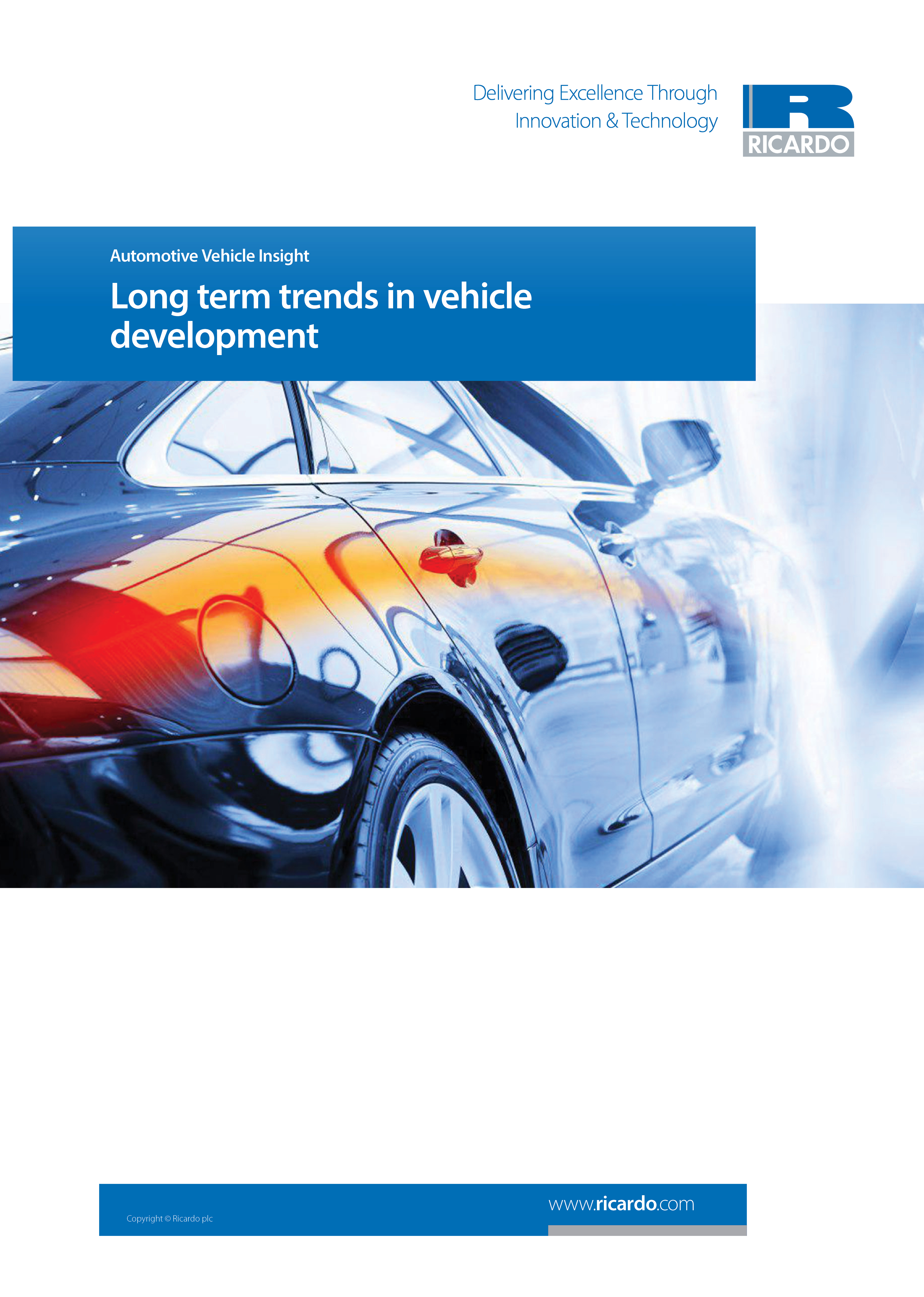 Long term trends in vehicle development