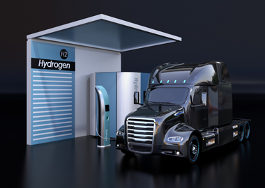 Case Study: Ricardo's strategic and technical groups collaborated to evaluate fuel cell packaging on a class 8 drayage truck