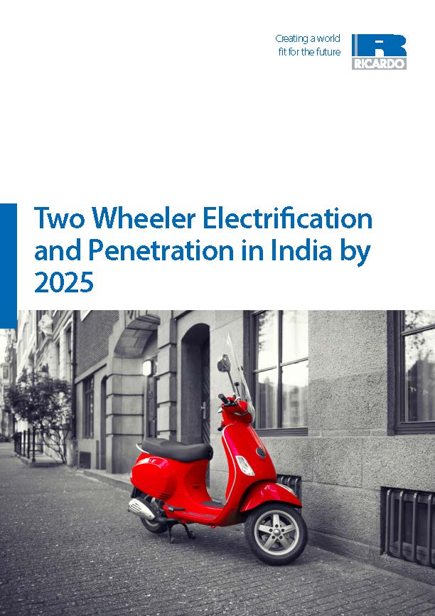 Two Wheeler Electrification and Penetration in India by 2025