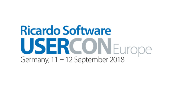 Ricardo Software UserCon Europe 2018
