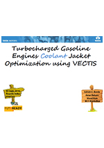 Turbocharged gasoline engines coolant jacket optimization using VECTIS