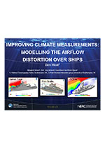 Improving climate measurements modelling the airflow distortion over ships